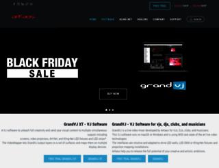 vj-dj.arkaos.net screenshot