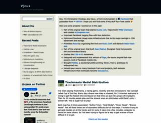 vjeux.com screenshot