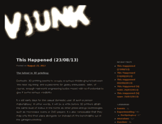 vjunk.org screenshot