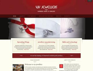 vjvjewellers.com screenshot