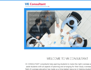 vkconsultant.com screenshot