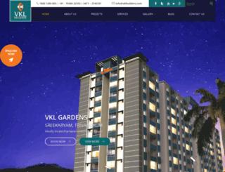 vklbuilders.com screenshot