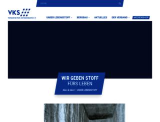 vks-kalisalz.de screenshot