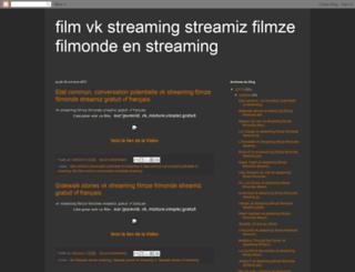 vkstreamizfilmze.blogspot.fr screenshot