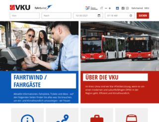 vku-online.de screenshot