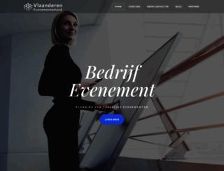 vlaanderen-evenementenland.be screenshot