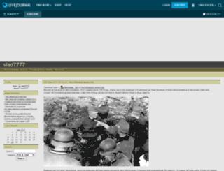 vlad7777.livejournal.com screenshot