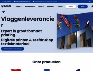 vlaggenleverancier.nl screenshot