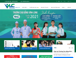 vlcc.edu.vn screenshot