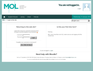 vle.moltraining.co.uk screenshot
