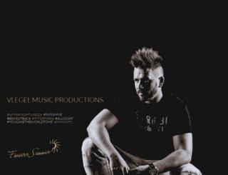 vlegelmusic.com screenshot