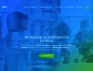 vlex.com.co screenshot