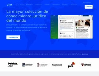 vlex.es screenshot