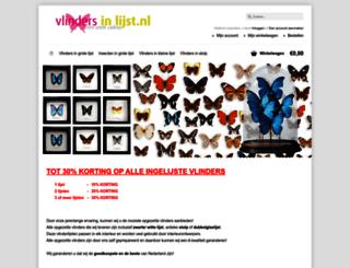 vlindersinlijst.nl screenshot