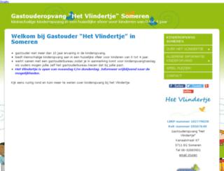 vlindertje-gastouder.jouwweb.nl screenshot