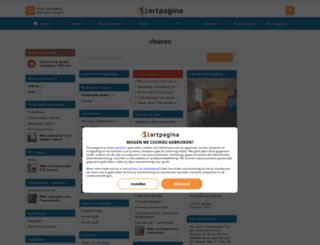 vloeren.pagina.nl screenshot