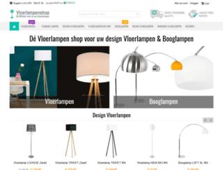 vloerlampenshop.com screenshot