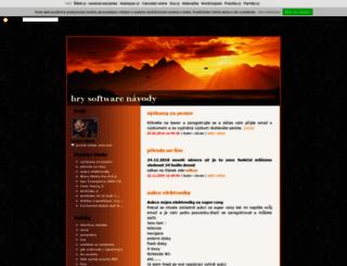 vlovec.txt.cz screenshot