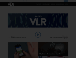 vlr.dk screenshot