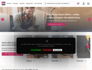 vm-materiaux.fr screenshot