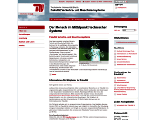 vm.tu-berlin.de screenshot