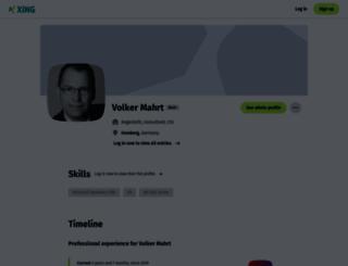 vmahrt.de screenshot
