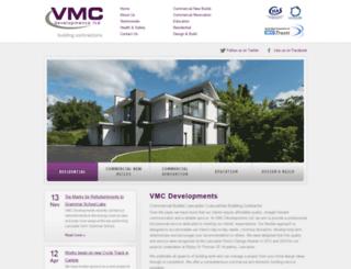 vmcdevelopments.co.uk screenshot