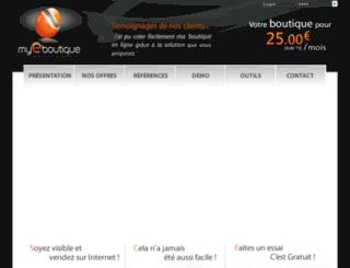 vmode.fr screenshot