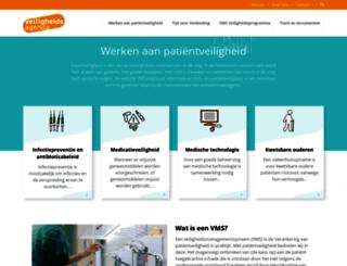 vmszorg.nl screenshot