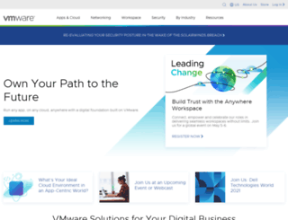 vmware.com screenshot