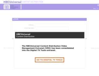vmx.nbcuni.com screenshot