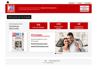 vn-anzeigen.vol.at screenshot