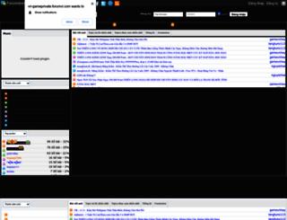 vn-gameprivate.forumvi.com screenshot