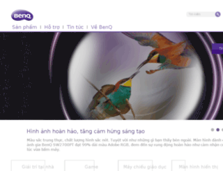 vn.benq.com screenshot