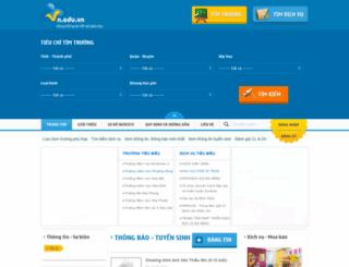 vn.edu.vn screenshot