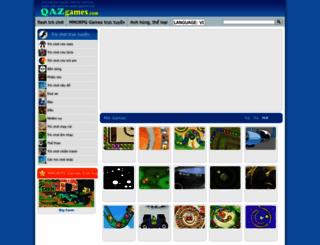 vn.qazgames.com screenshot