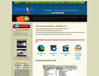 vn.ultramailer.org screenshot