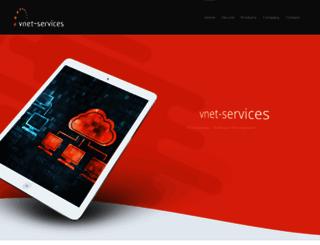 vnet-services.com screenshot