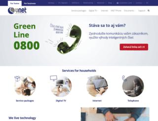 vnet.sk screenshot