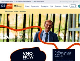 vno-ncwnoord.nl screenshot