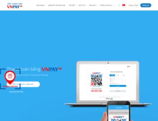vnpayment.vnpay.vn screenshot