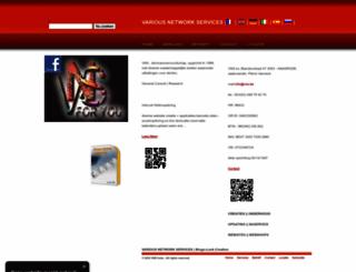 vns.be screenshot