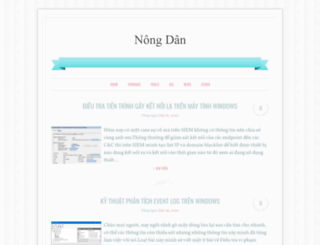 vnsec.net screenshot