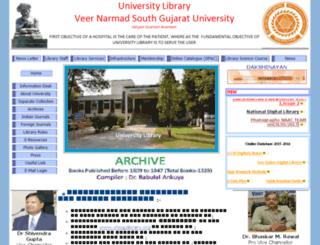 vnsgulibrary.org screenshot