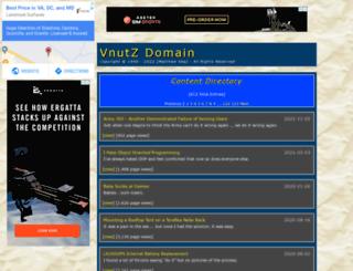 vnutz.com screenshot