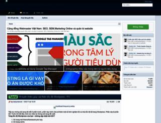 vnwebmaster.com screenshot