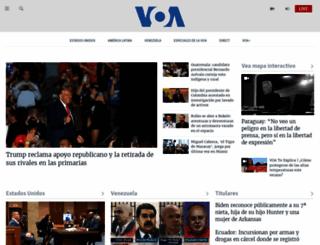 voanoticias.com screenshot