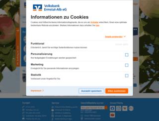 voba-ermstal-alb.de screenshot