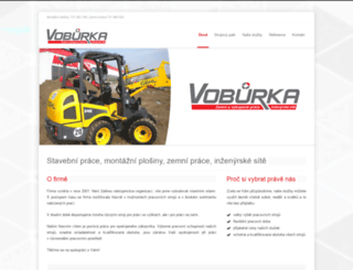 voburka.cz screenshot