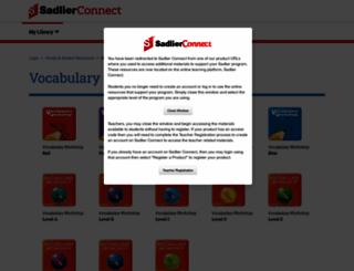 vocabularyworkshop.com screenshot